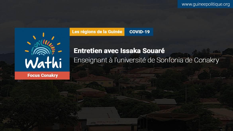 En Guinée, l'impact de la pandémie est bien visible avec la fermeture des écoles et des lieux de culte