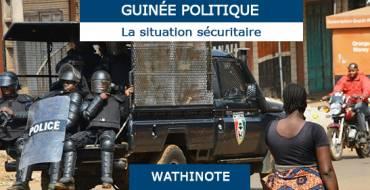 Les enjeux de la sécurité humaine en république de Guinée, Gorée Institute